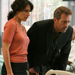 Hugh Laurie, Lisa Edelstein, House