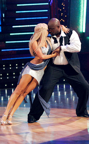 DWTS, Kym Johnson, Warren Sapp