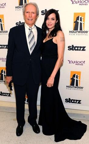 Angelina Jolie, Clint Eastwood