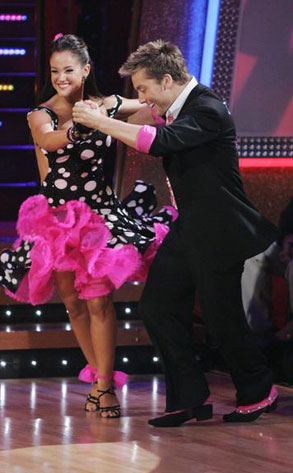 DANCING WITH THE STARS, LACEY SCHWIMMER, LANCE BASS, DWTS