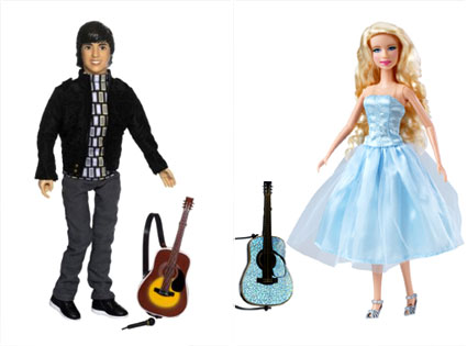 Joe Jonas Camp Rock Doll, Taylor Swift Doll