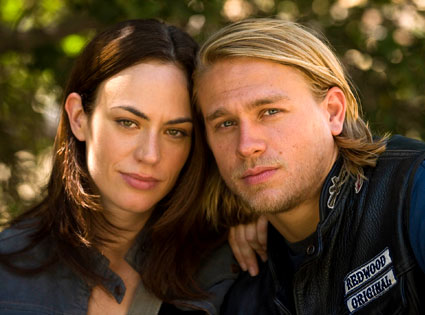 Charlie Hunnam, Maggie Siff, Sons of Anarchy