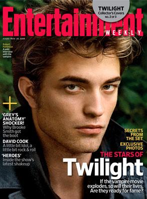 Robert Pattinson, Entertainment Weekly