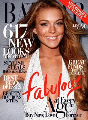 Lindsay Lohan, Harper's Bazaar Magazine