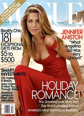 Jennifer Aniston, Vogue Cover