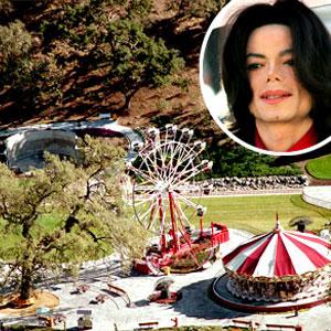 Michael Jackson, Neverland Ranch