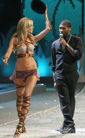 Heidi Klum, Usher