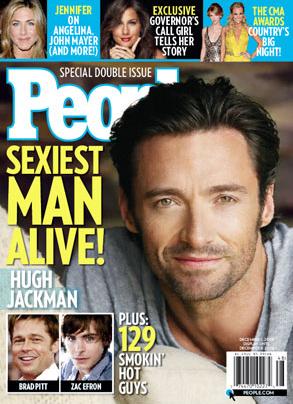 Hugh Jackman, People Sexiest Man Alive