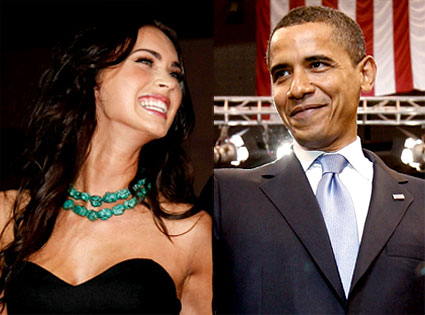 Megan Fox, Barack Obama