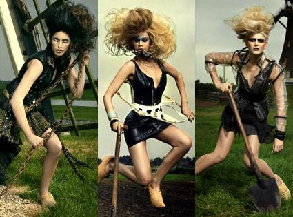 McKey Sullivan, Samantha Potter, Analeigh Tipton, America's Next Top Model