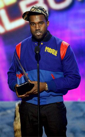 Kanye West, AMA 2008