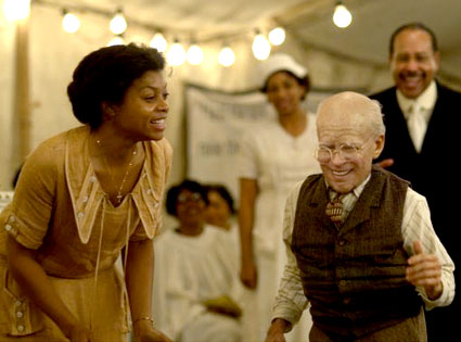 The Curious Case of Benjamin Button, Brad Pitt, Taraji P. Henson