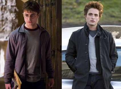 Daniel Radcliffe, Robert Pattinson