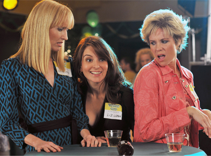 Janel Moloney, Tina Fey, Robin Lively, 30 Rock
