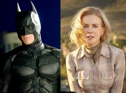 Nicole Kidman, Australia, Christian Bale, The Dark Knight