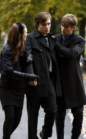 Gossip Girl, Leighton Meester, Ed Westwick, Chace Crawford