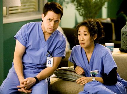 Grey's Anatomy, Sandra Oh, T.R. Knight