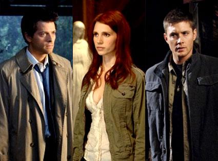 Supernatural, Jensen Ackles, Julie McNiven, Misha Collins