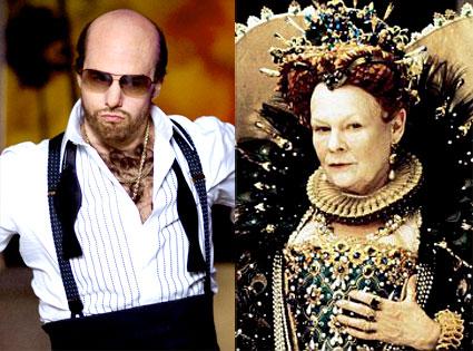 Tom Cruise, Tropic Thunder, Judi Dench, Shakespeare in Love
