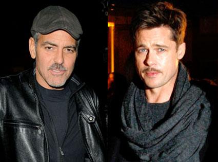 George Clooney, Brad Pitt