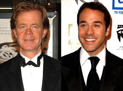 William H. Macy, Jeremy Piven