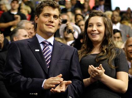 Levi Johnston, Bristol Palin