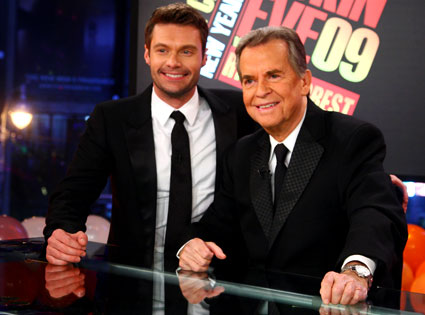 Dick Clark, Ryan Seacrest, New Year's Rockin' Eve