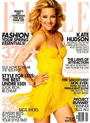 Kate Hudson, Elle Magazine