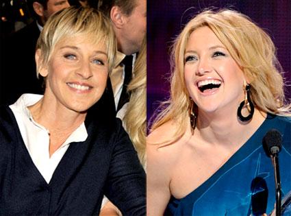 Ellen DeGeneres, Kate Hudson
