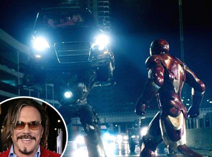 Iron Man, Mickey Rourke