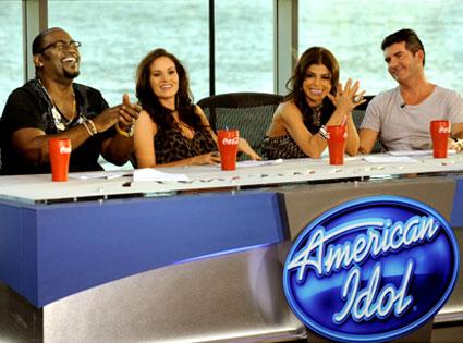 American Idol, Randy Jackson, Kara Dioguardi, Paula Abdul, Simon Cowell