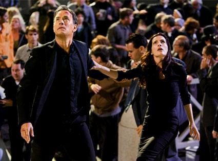Angels and Demons, Tom Hanks, Ayelet Zurer
