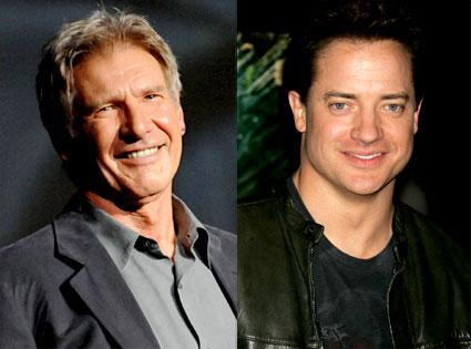 Brendan Fraser, Harrison Ford