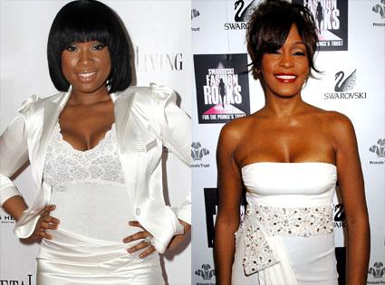 Whitney Houston, Jennifer Hudson