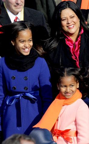 Maya Soetoro-Ng, Sasha Obama, Malia Obama