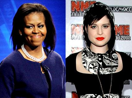 Michelle Obama, Kelly Osbourne