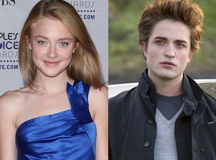 Dakota Fanning, Rob Pattinson, Twilight