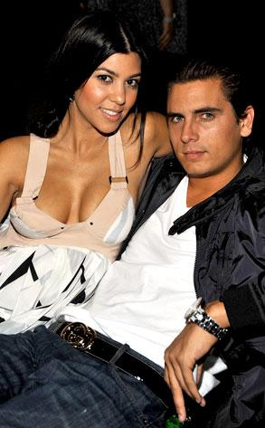 Kourtney Kardashian, Scott Disick