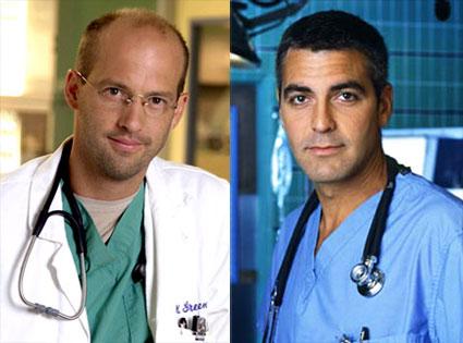 Anthony Edwards, George Clooney, ER