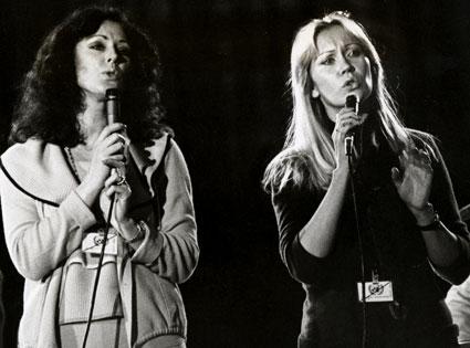 Anni-Frid Lyngstad, Agnetha Faltskog, ABBA