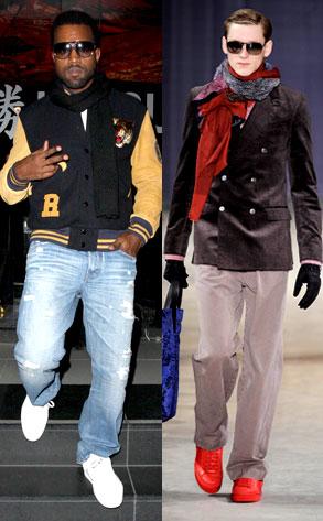 Kanye West, Louis Vuitton Model