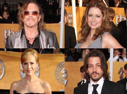 Mickey Rourke, Jenna Fischer, Julie Benz, Diego Luna