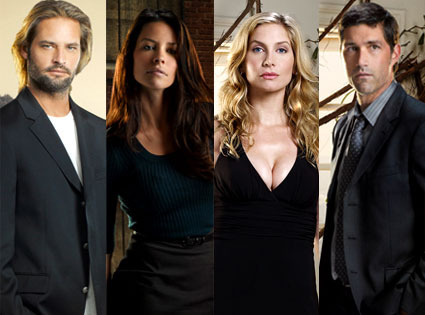 Josh Holloway, Evangeline Lilly, Elizabeth Mitchell, Matthew Fox