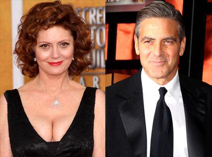 Susan Sarandon, George Clooney