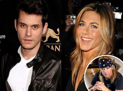 John Mayer, Jennifer Aniston, Bret Michaels