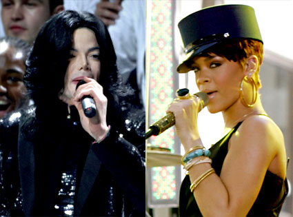 Michael Jackson, Rihanna