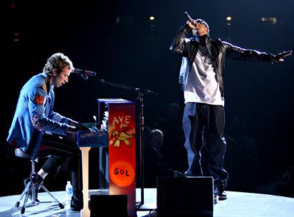 Chris Martin, Jay- Z