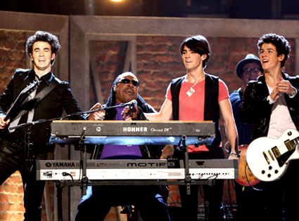 Jonas Brothers, Steve Wonder