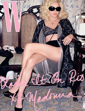 Madonna, W Cover