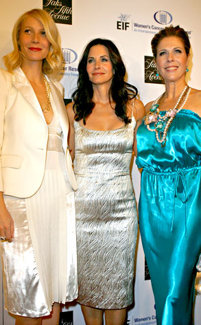 Gwyneth Paltrow, Courteney Cox, Rita Wilson